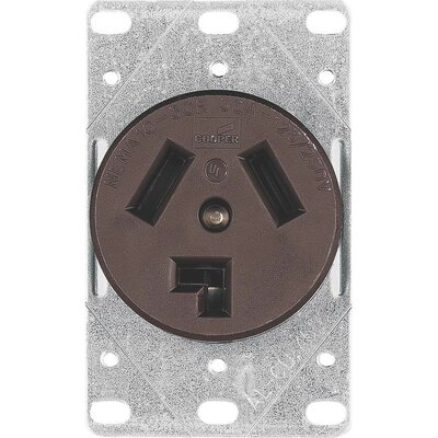 30A 3 Wire Dryer Receptacle