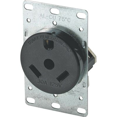 Travel Trailer 30A Power Receptacle (Set of 5)