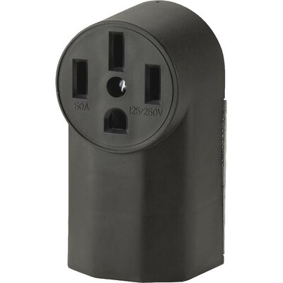 50A 4 Wire Surf Grounding Power Receptacle (Set of 10)