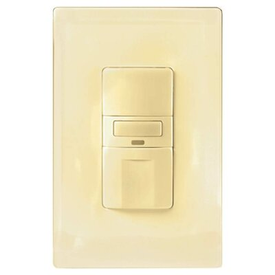 Vacancy Switch with Led Light Color: Ivory