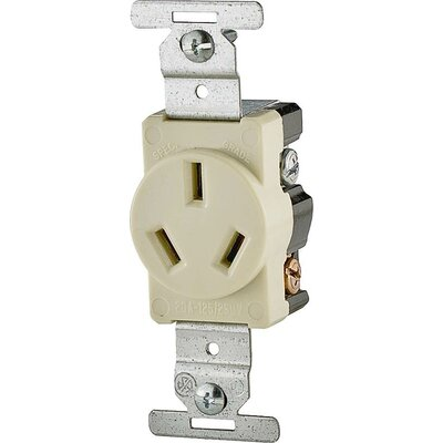 20A 3 Wire Single Grounding Receptacle (Set of 10)