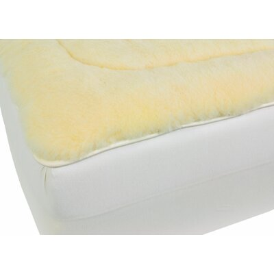 Herrington All-Natural Wool/Cotton Mattress Pad Size: King