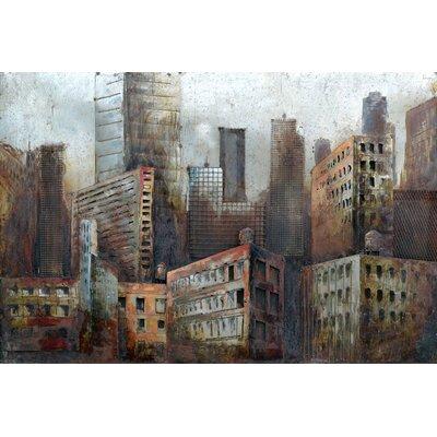 Lower Manhattan Metal Wall Art