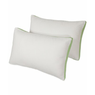 Isopedic Medium Density Fiber Pillow Size: King