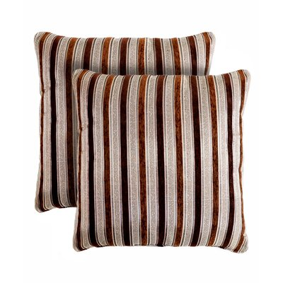 Vanity Stripe Throw Pillow
