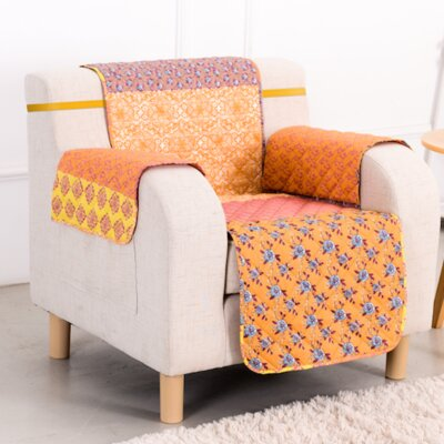 Escapade Box Cushion Armchair Slipcover