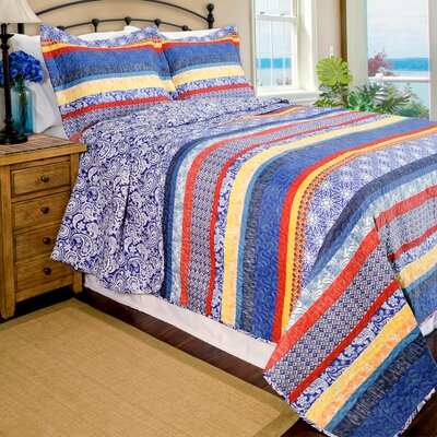 Home ID Quilt Set Size: King