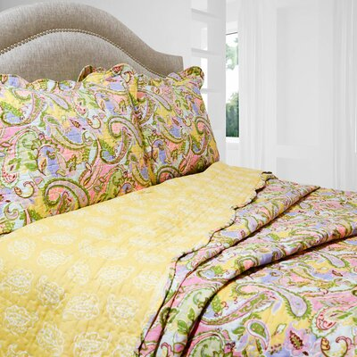 Vintage Kiera Quilt Set Size: Full / Queen
