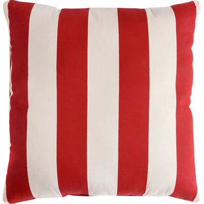 Regal Stripe Cotton Throw Pillow