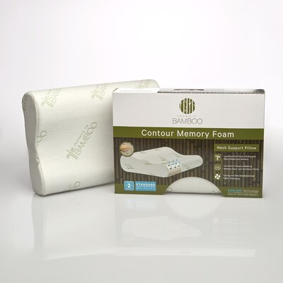 Essence of Bamboo Memory Foam Contour Pillow