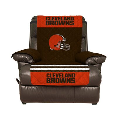 NFL Recliner Slipcover NFL Team: Cleveland Browns