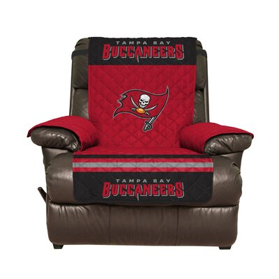 NFL Recliner Slipcover NFL Team: Tampa Bay Buccaneers