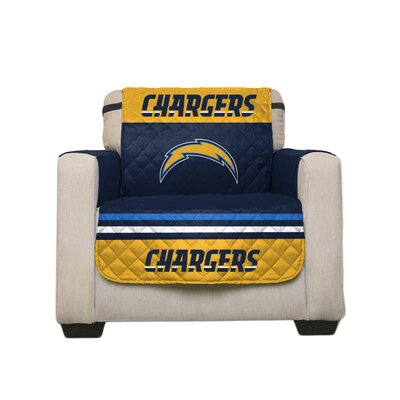 NFL Armchair Slipcover NFL Team: San Diego Chargers