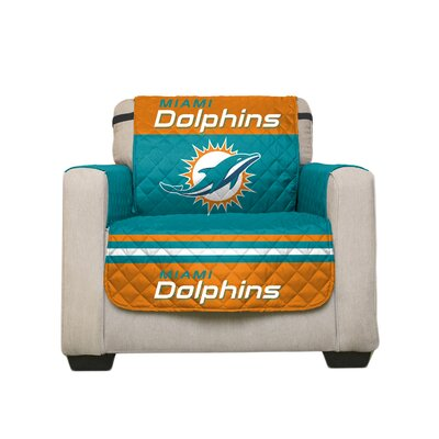NFL Armchair Slipcover NFL Team: Miami Dolphins