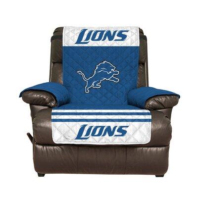 NFL Recliner Slipcover NFL Team: Detroit Lions