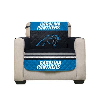 NFL Armchair Slipcover NFL Team: Carolina Panthers