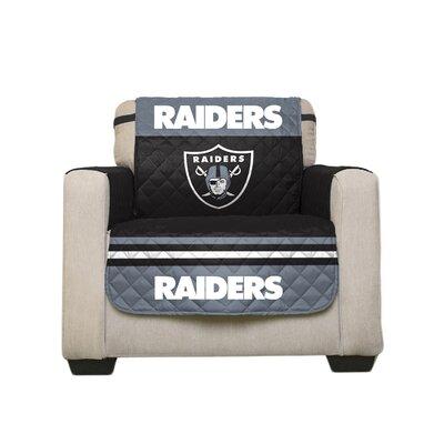 NFL Armchair Slipcover NFL Team: Oakland Raiders