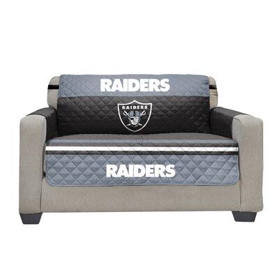 NFL Loveseat Slipcover NFL Team: Oakland Raiders