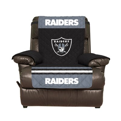 NFL Recliner Slipcover NFL Team: Oakland Raiders