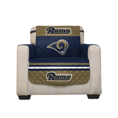 NFL Armchair Slipcover NFL Team: Los Angeles Rams