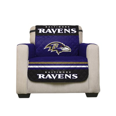 NFL Armchair Slipcover NFL Team: Baltimore Ravens