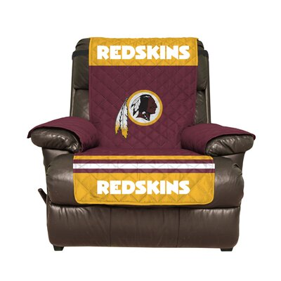 NFL Recliner Slipcover NFL Team: Washington Redskins