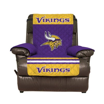 NFL Recliner Slipcover NFL Team: Minnesota Vikings