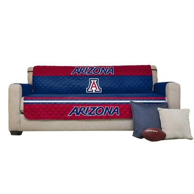 NCAA Polyester Sofa Slipcover NCAA Team: University of Arizona