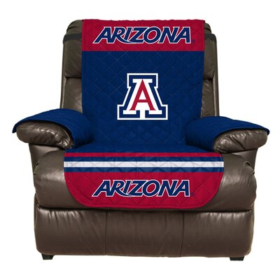 NCAA Polyester Armchair Slipcover NCAA Team: University of Arizona
