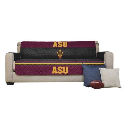 NCAA Polyester Sofa Slipcover NCAA Team: Arizona State University