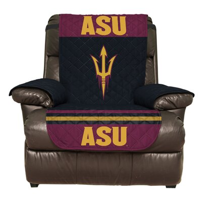 NCAA Polyester Armchair Slipcover NCAA Team: Arizona State University