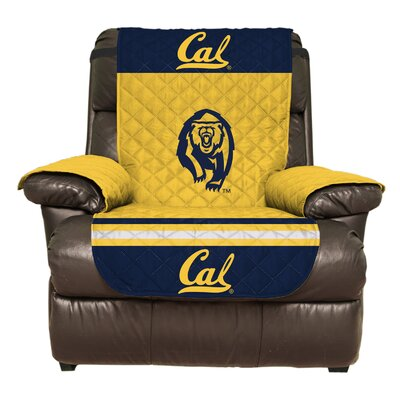 NCAA Polyester Recliner Slipcover NCAA Team: University of California, Berkeley