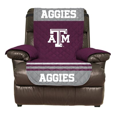 NCAA Polyester Recliner Slipcover NCAA Team: Texas A&M University, College Station