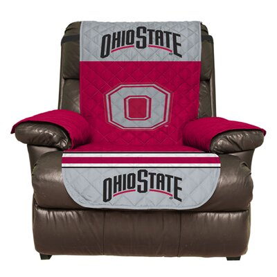 NCAA Polyester Armchair Slipcover NCAA Team: The Ohio State University