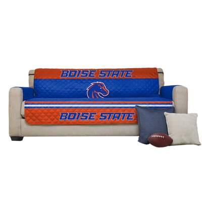 NCAA Polyester Sofa Slipcover NCAA Team: Boise State University