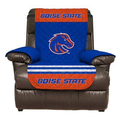 NCAA Polyester Recliner Slipcover NCAA Team: Boise State University