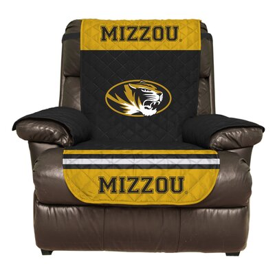NCAA Polyester Recliner Slipcover NCAA Team: University of Missouri, Columbia