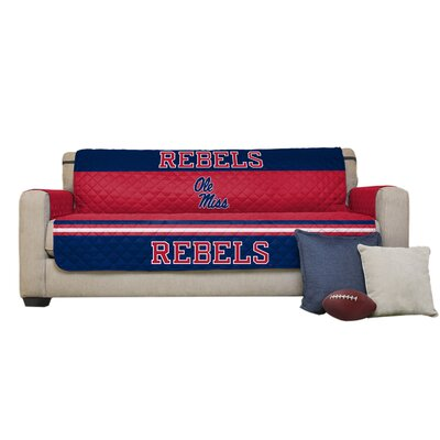 NCAA Polyester Sofa Slipcover NCAA Team: University of Mississippi