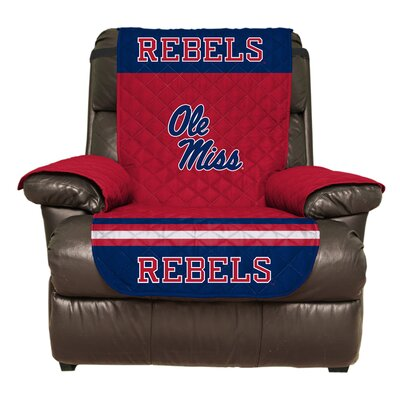 NCAA Polyester Recliner Slipcover NCAA Team: University of Mississippi
