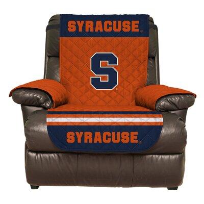 NCAA Polyester Recliner Slipcover NCAA Team: Syracuse University