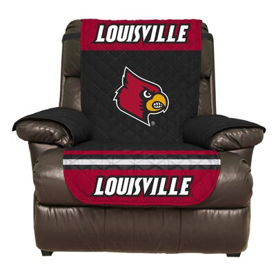 NCAA Polyester Recliner Slipcover NCAA Team: University of Louisville
