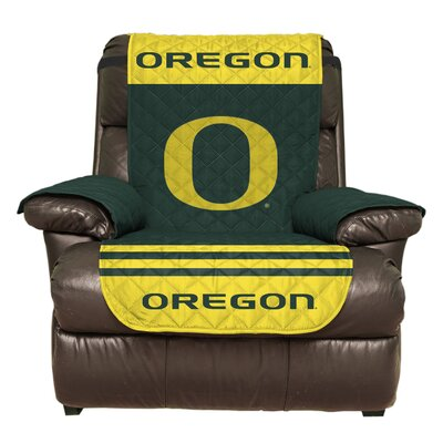 NCAA Polyester Recliner Slipcover NCAA Team: University of Oregon