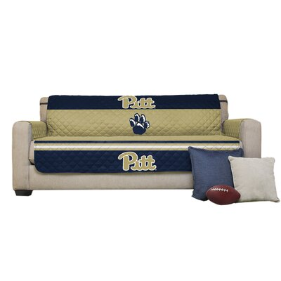 NCAA Polyester Sofa Slipcover NCAA Team: University of Pittsburgh