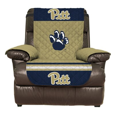 NCAA Polyester Recliner Slipcover NCAA Team: University of Pittsburgh