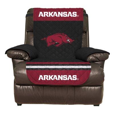 NCAA Polyester Recliner Slipcover NCAA Team: University of Arkansas, Fayetteville