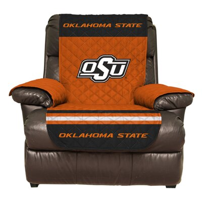 NCAA Polyester Recliner Slipcover NCAA Team: Oklahoma State University