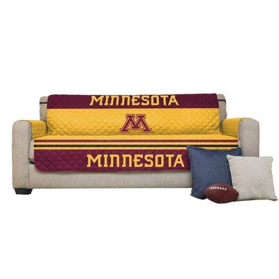 NCAA Polyester Sofa Slipcover NCAA Team: University of Minnesota, Twin Cities