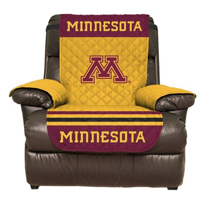 NCAA Polyester Recliner Slipcover NCAA Team: University of Minnesota, Twin Cities