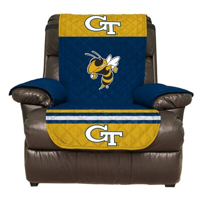 NCAA Polyester Recliner Slipcover NCAA Team: Georgia Institute of Technology