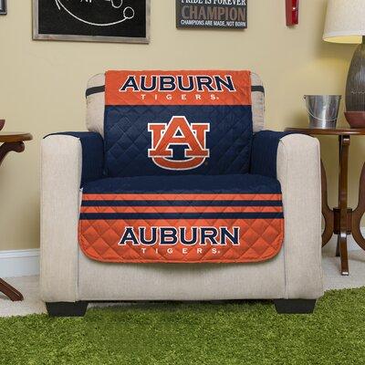 NCAA Polyester Recliner Slipcover NCAA Team: Auburn University